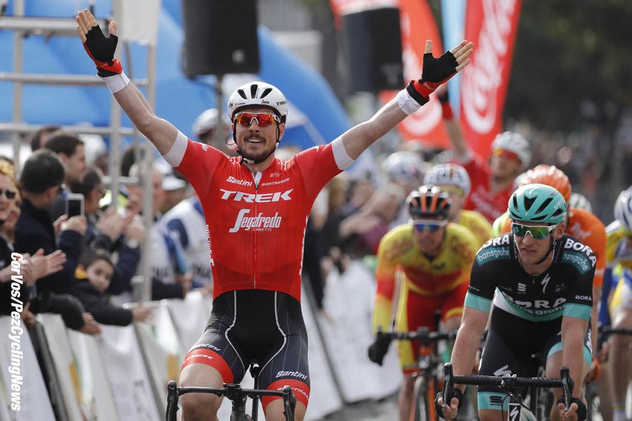 Mallorca - Spain - wielrennen - cycling - cyclisme - radsport - John DEGENKOLB (Germany / Team Trek Segafredo)  pictured during the Trofeo Palma (1.1) a one Day Race from Playa de Palma to Palma   (159.6KM) - photo Luis GomezCor Vos © 2018