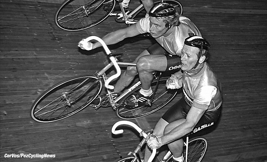 Hoogvliet - Nederland  - wielrennen - cycling - radsport - cyclisme - stock - archief - archive - Rene Pijnen en Didi Dietrich Thurau - photo Cor Vos © 2015