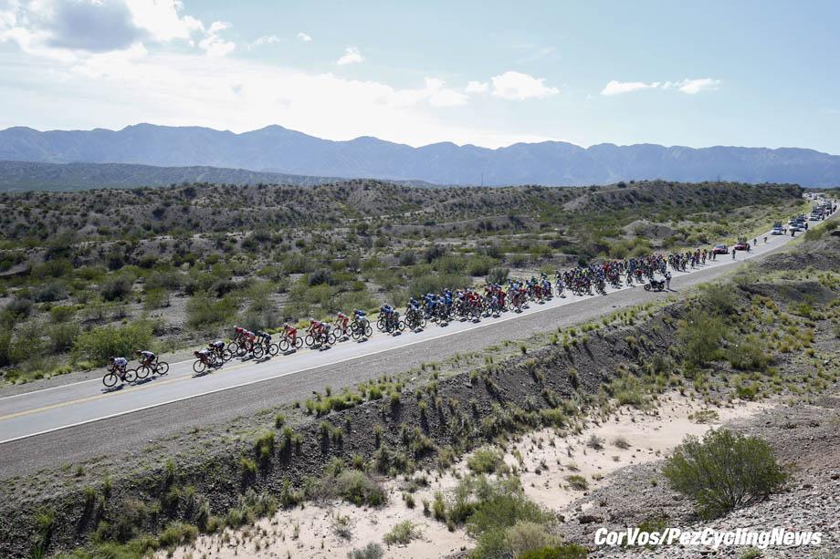 Alto de Colorado - Argentina- wielrennen - cycling - cyclisme - radsport - illustration - scenery - carte postal scenic shot - postcard sfeerfoto - sfeer - illustratie pictured during Vuelta a San Juan 2017 - 36th Edition - stage 5 - from  San Martín  :  Alto de Colorado (169.5KM) - photo ilario Biondi/LB/RB/Cor Vos © 2018