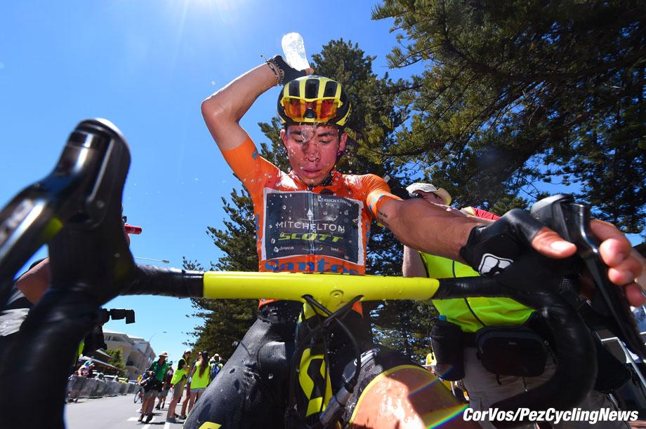 Victor Harbor - Australia - wielrennen - cycling - cyclisme - radsport - Caleb Ewan (AUS - Mitchelton - Scott)  pictured during  20th Santos Tour Down Under (2.UWT) stage -3 from Glenelg to Victor Harbor (120KM) - photo LB/RB/Cor Vos © 2018