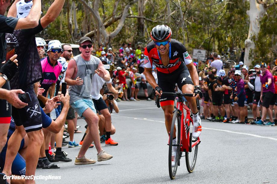 Willunga Hill - Australia - wielrennen - cycling - cyclisme - radsport - Richie Porte (AUS - BMC) pictured during 20th Santos Tour Down Under (2.UWT) stage -5 from McLaren Vale to Willunga Hill (151.5KM) - photo LB/RB//Cor Vos © 2018