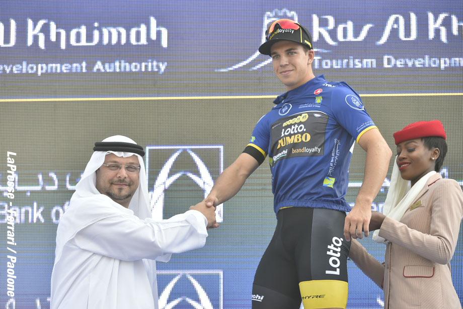 Foto LaPresse - Fabio Ferrari 07/02/2018 Dubai (Emirati Arabi Uniti) Sport Ciclismo Dubai Tour 2018 - 5a edizione - Tappa 2 - Ras Al Khaimah Stage - da Skidive Dubai a Ras Al Khaimah - 190 km (118,1 miglia) Nella foto:   Photo LaPresse - Fabio Ferrari 07/02/2018 Dubai (United Arab Emirates)  Sport Cycling Dubai Tour 2018 - 5th edition -  Stage 2 - Ras Al Khaimah Stage - Skidive Dubai to Ras Al Khaimah - 190 km (118,1 miles) In the pic: