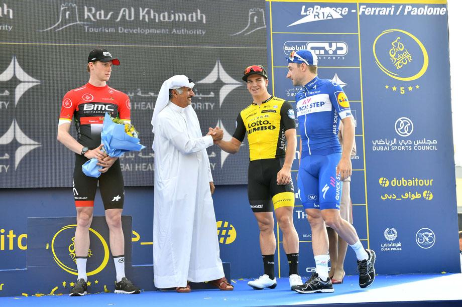 Foto LaPresse - Massimo Paolone 07/02/2018 Dubai (Emirati Arabi Uniti) Sport Ciclismo Dubai Tour 2018 - 5a edizione - Tappa 2 - Ras Al Khaimah Stage - da Skidive Dubai a Ras Al Khaimah - 190 km (118,1 miglia) Nella foto:   Photo LaPresse - Massimo Paolone 07/02/2018 Dubai (United Arab Emirates)  Sport Cycling Dubai Tour 2018 - 5th edition -  Stage 2 - Ras Al Khaimah Stage - Skidive Dubai to Ras Al Khaimah - 190 km (118,1 miles) In the pic: