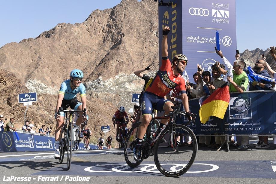 Foto LaPresse - Fabio Ferrari 09/02/2018 Dubai (Emirati Arabi Uniti) Sport Ciclismo Dubai Tour 2018 - 5a edizione - Tappa 4 - Dubai Municipality Stage - da Skidive Dubai a Hatta Dam - 172 km (106,9 miglia) Nella foto: Photo LaPresse - Fabio Ferrari 09/02/2018 Dubai (United Arab Emirates) Sport Cycling Dubai Tour 2018 - 5th edition - Stage 4 - Dubai Municipality Stage - Skidive Dubai to Hatta Dam - 172 km (106,9 miles) In the pic:
