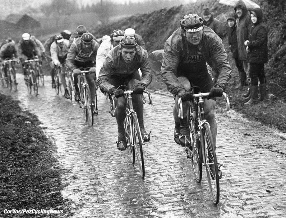 Gent-Belgie- wielrennen-cycling-cyclisme- Omloop het Volk - Jan Raas (TI-Raleigh) - foto Cor Vos ©1981