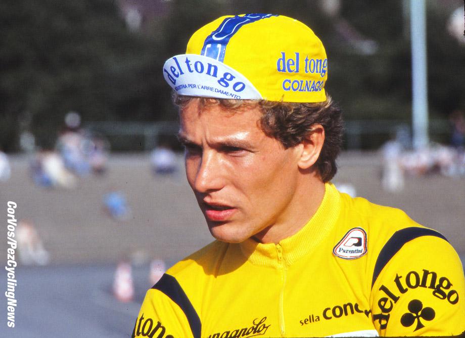 Hoogvliet - Netherlands - wielrennen - cycling - radsport - cyclisme -  Dietrich Didi Thurau (Team Del Tongo) pictured in 1983  - photo Cor Vos © 2015