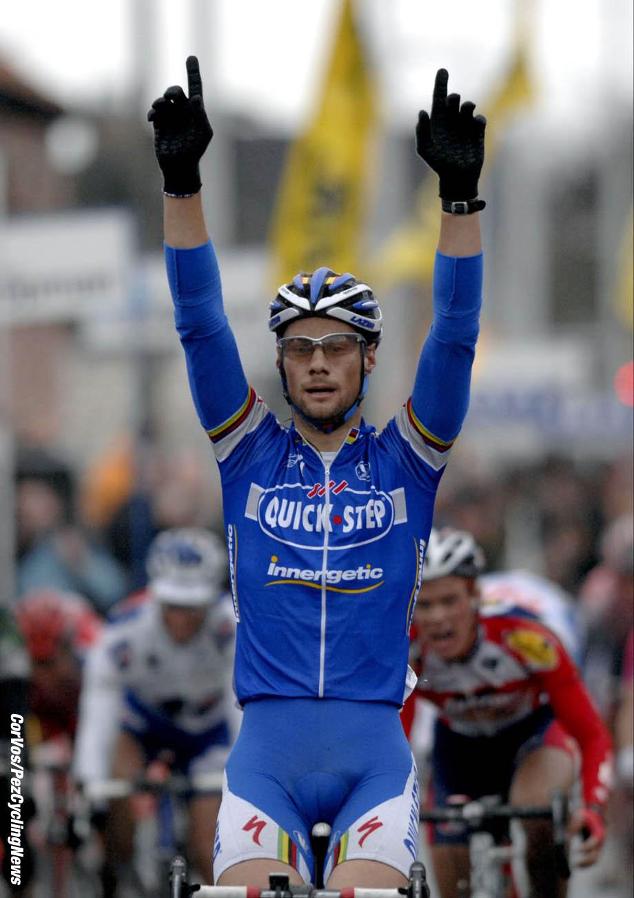 Kuurne - wielrennen - cycling - cyclisme - radsport - Kuurne-Brussel-Kuurne - Tom Boonen (Quickstep) - foto Cor Vos ©2007