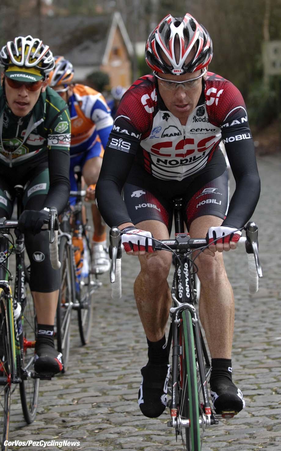 Kuurne - wielrennen - cycling - cyclisme - radsport - Kuurne-Brussel-Kuurne - Stuart O'Grady (CSC)- foto Cor Vos ©2007