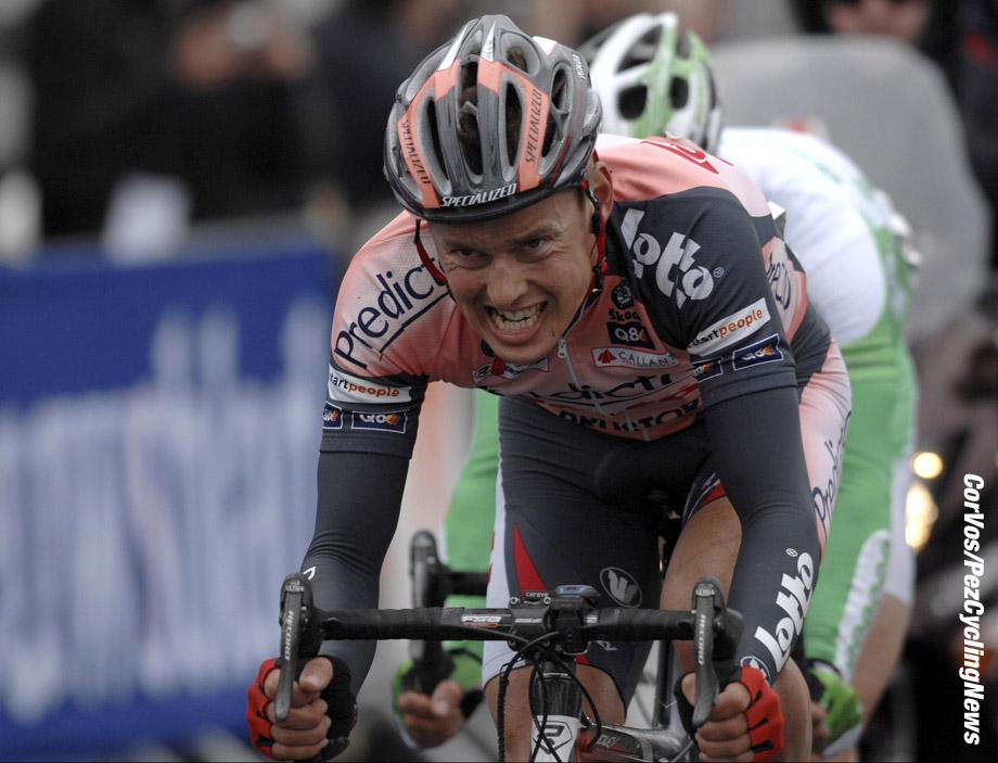 Kuurne - wielrennen - cycling - cyclisme - radsport - Kuurne-Brussel-Kuurne - Preben VanHecke (Lotto Predictor) - foto Cor Vos ©2007