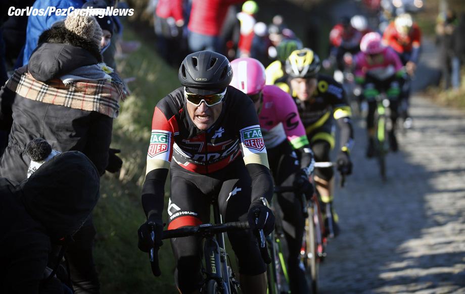 Kuurne - Belgium - wielrennen - cycling - cyclisme - radsport - Greg VAN AVERMAET (Belgium / BMC Racing Team) pictured during 70th Kuurne-Bruxelles-Kuurne 2018 (1.HC) - photo Dion Kerckhoffs/Cor Vos © 2018