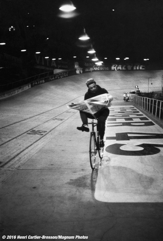 FRANCE. Paris. 1957. VÈlodrome d'Hiver. Six-day races.