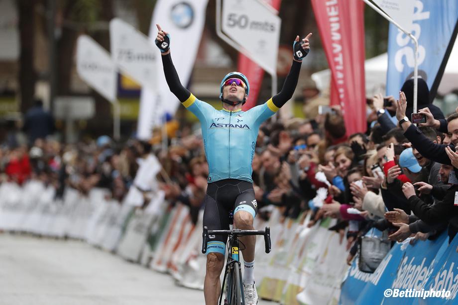 Vuelta Ciclista a la Region de Murcia Costa Calida 2018 - Beniel - Murica 208,3 km - 10/02/2018 - Luis Leon Sanchez (ESP - Astana Pro Team) - photo Luis Angel Gomez/BettiniPhoto©2018