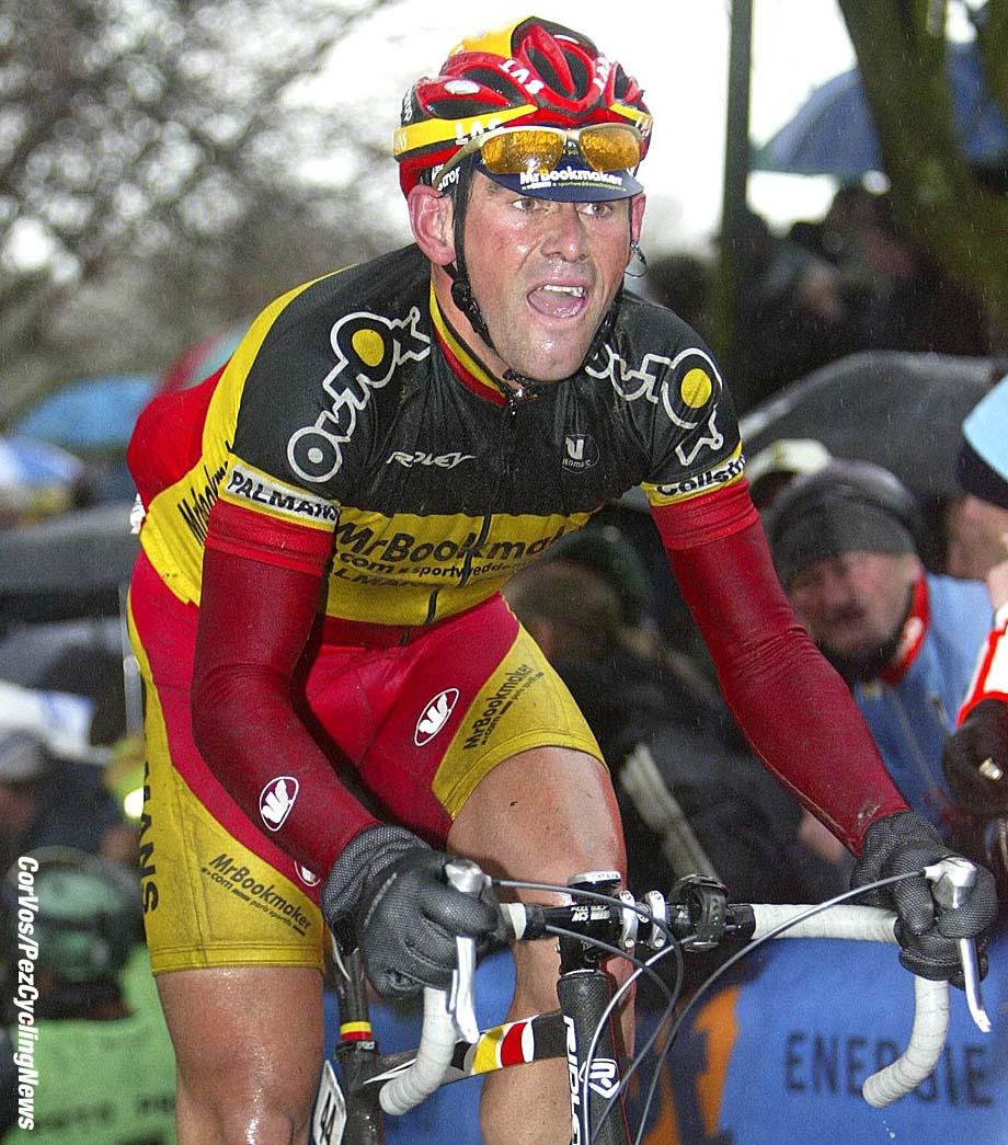 Wevelgem-wielrennen-cycling: Gent-Wevelgem - Gand -Wevelghem - Geert Omloop - foto Cor Vos ©2004