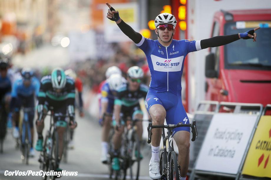 Calella - Spain - wielrennen - cycling - cyclisme - radsport - Alvaro Jose HODEG CHAGUI (Columbia / Team Quick - Step Floors) pictured during 98th Volta Ciclista a Catalunya (2.UWT) - stage 1 (152,3KM) - photo Luis/Gomez/Cor Vos © 2018