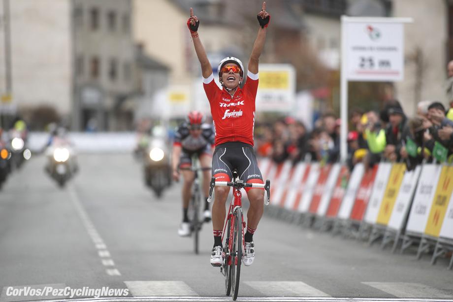 Vielha Val d'Aran - wielrennen - cycling - cyclisme - radsport - Jarlinson PANTANO GOMEZ (Columbia / Team Trek Segafredo) pictured during 98th Volta Ciclista a Catalunya (2.UWT) stage 5 from Llívia to Vielha Val d'Aran (212.9KM) - 23-03-2018 - photo Luis Gomez/Cor Vos © 2018