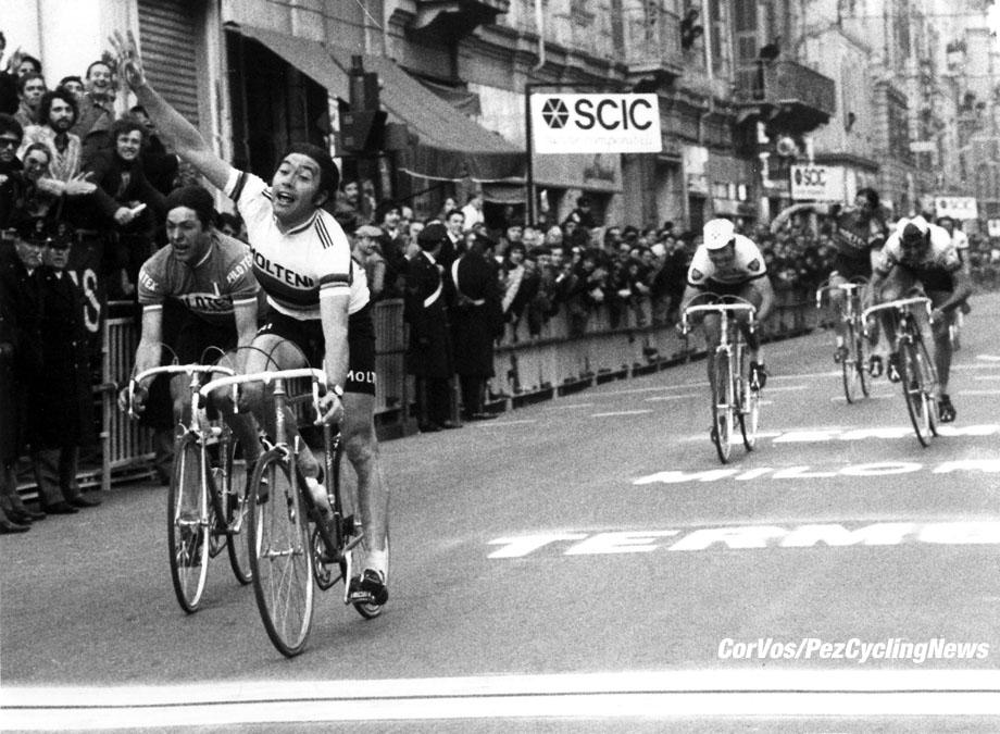 Eddy Merckx Milano-Sanremo. Foto Cor Vos