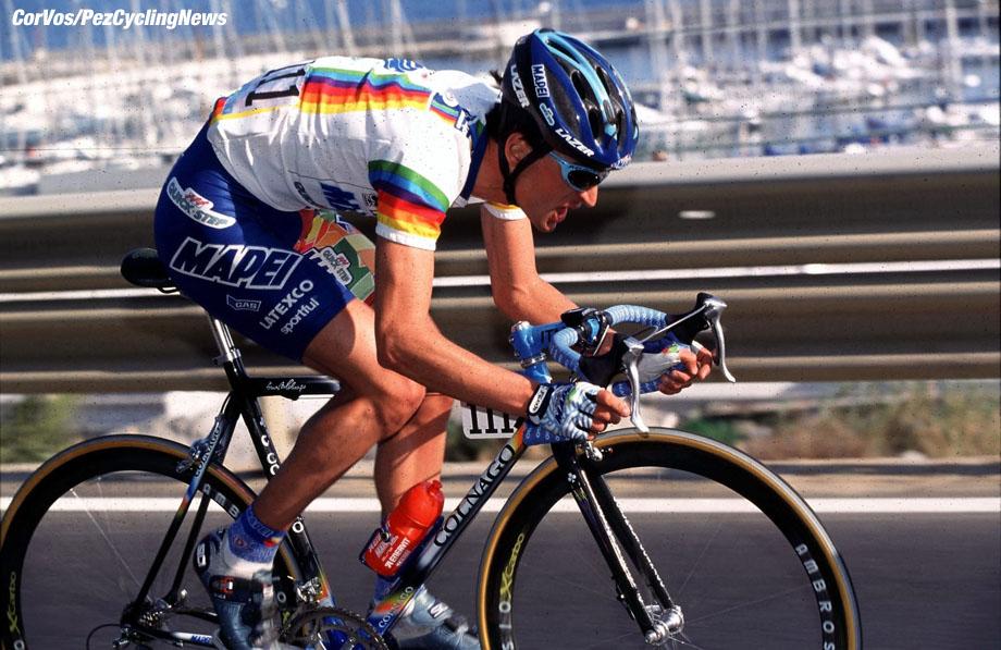 Michael Bartoli, Milano-Sanremo, foto Cor Vos ©1999