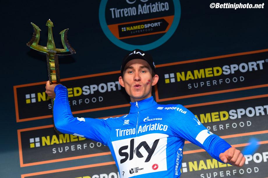 Tirreno Adriatico 2018 - 53th Edition - San Benedetto del Tronto - San Benedetto del Tronto 10 km - 13/03/2018 - Michal Kwiatkowski (POL - Team Sky)- photo Dario Belingheri/BettiniPhoto©2018