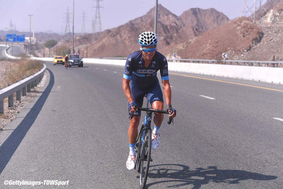 Cycling: 5th Tour Dubai 2018 / Stage 4 Christopher Williams of Australia /  Skydive Dubai - Hatta Dam 402m (190km)/  Dubai Municipality Stage / Dubai Tour  / © Tim De Waele