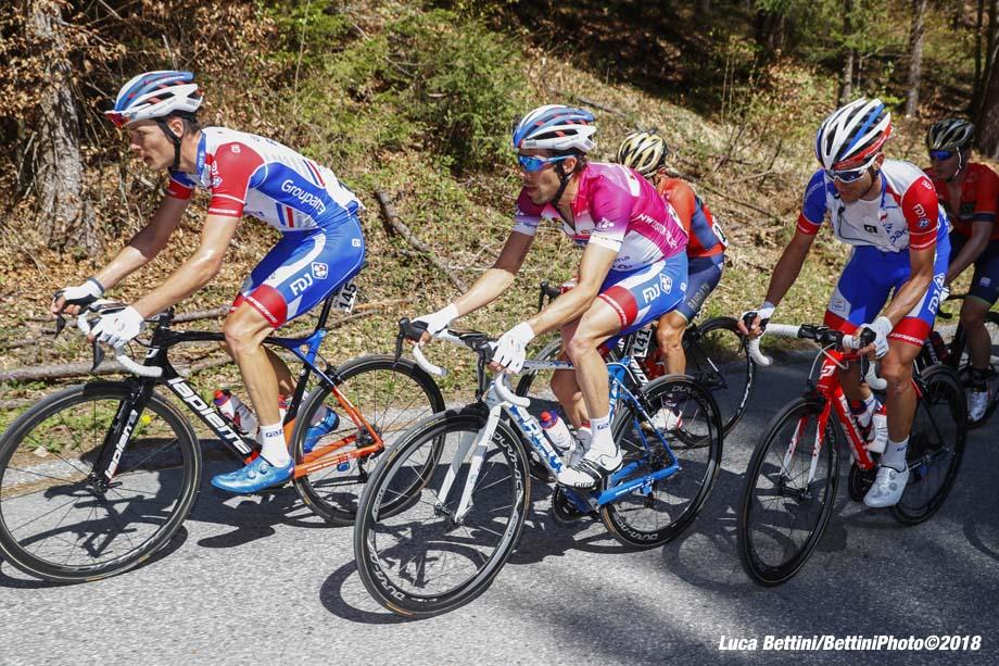 Tour of the Alps 2018 - 5th stage Rattenberg - Innsbruck 164,2 km - 20/04/2018 - Thibaut Pinot (FRA - Groupama - FDJ) - photo Luca Bettini/BettiniPhoto©2018