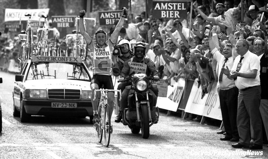 Maastricht - Netherlands - wielrennen - cycling - cyclisme - radsport - Joop ZOETEMELK pictured during Amstel Gold Race 1987 - photo Cor Vos © 2018