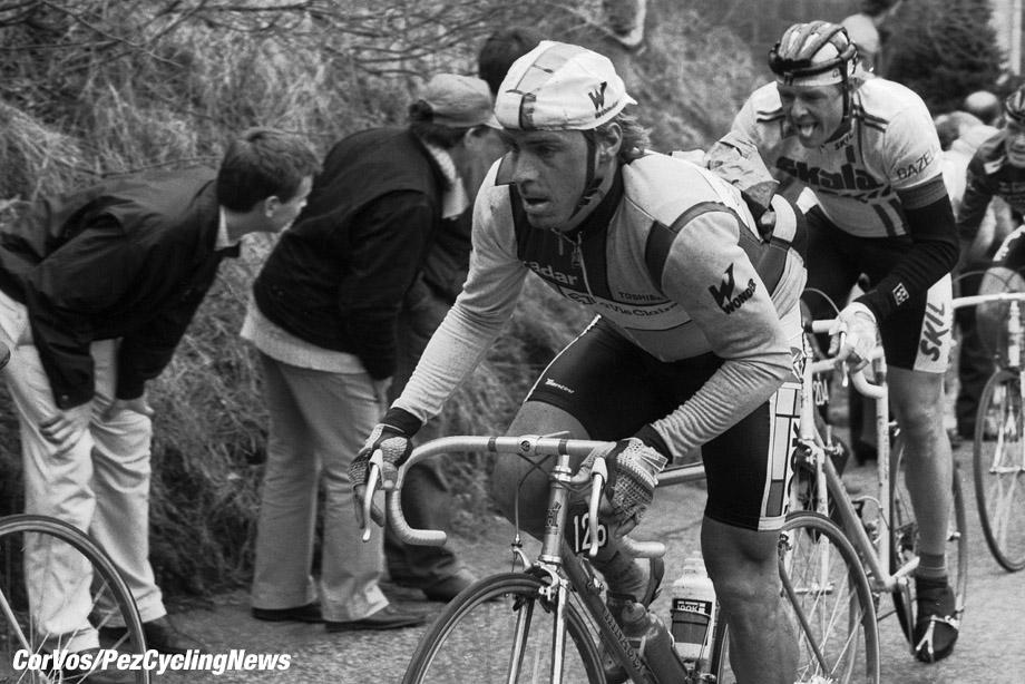 Liege - Belgium - wielrennen - cycling - cyclisme - radsport - Steve BAUER  pictured during Luik - Bastenaken 1986 - Luik - photo Cor Vos © 2018