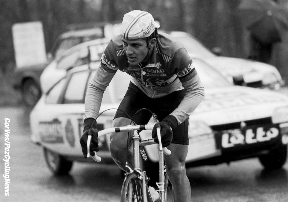 Liege - Belgium - wielrennen - cycling - cyclisme - radsport -  Serge DEMIERRE pictured during Luik - Bastenaken 1986 - Luik - photo Cor Vos © 2018
