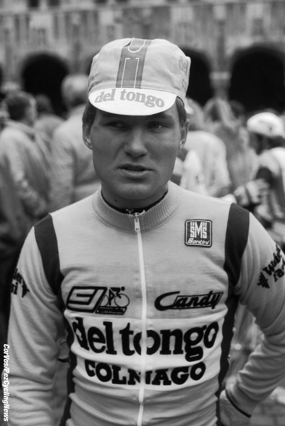Liege - Belgium - wielrennen - cycling - cyclisme - radsport -  Rolf GOLZ pictured during Luik - Bastenaken 1986 - Luik - photo Cor Vos © 2018