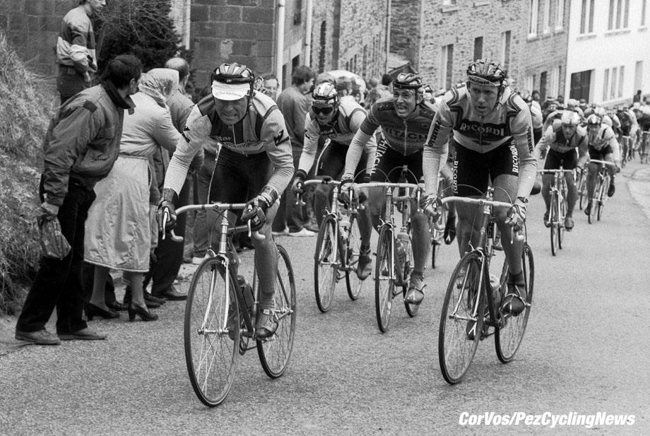 Liege - Belgium - wielrennen - cycling - cyclisme - radsport -  HINAULT (Frankreich  pictured during Luik - Bastenaken 1986 - Luik - photo Cor Vos © 2018