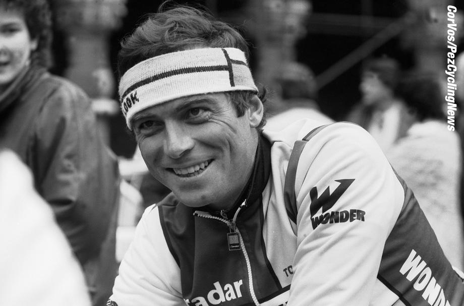 Liege - Belgium - wielrennen - cycling - cyclisme - radsport - Bernard HINAULT   pictured during Luik - Bastenaken 1986 - Luik - photo Cor Vos © 2018