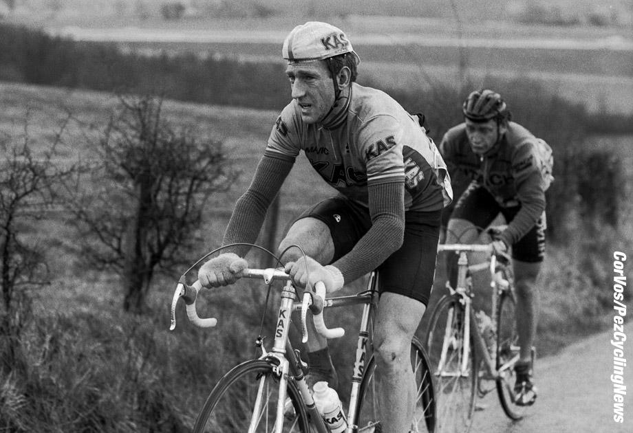Liege - Belgium - wielrennen - cycling - cyclisme - radsport -  Sean KELLY pictured during Luik - Bastenaken 1986 - Luik - photo Cor Vos © 2018