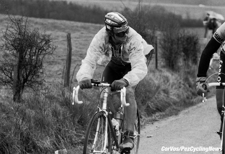 Liege - Belgium - wielrennen - cycling - cyclisme - radsport - Greg LEMOND pictured during Luik - Bastenaken 1986 - Luik - photo Cor Vos © 2018