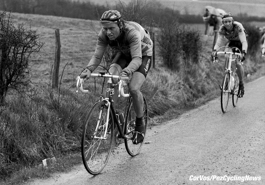Liege - Belgium - wielrennen - cycling - cyclisme - radsport -   Erik PEDERSEN pictured during Luik - Bastenaken 1986 - Luik - photo Cor Vos © 2018