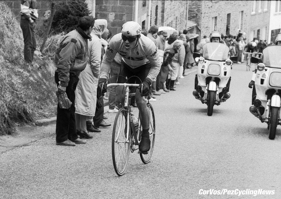 Liege - Belgium - wielrennen - cycling - cyclisme - radsport - Joel PELIER  pictured during Luik - Bastenaken 1986 - Luik - photo Cor Vos © 2018