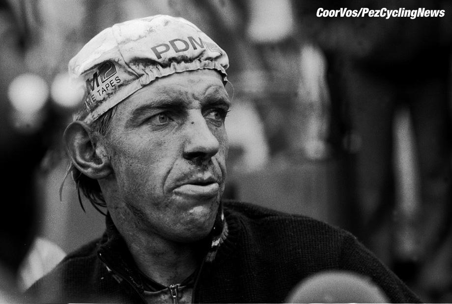 Liege - Belgium - wielrennen - cycling - cyclisme - radsport - Steven ROOKS  pictured during Luik - Bastenaken 1986 - Luik - photo Cor Vos © 2018