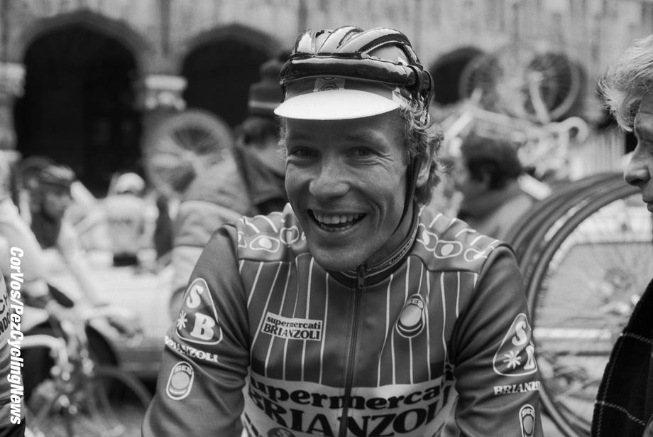 Liege - Belgium - wielrennen - cycling - cyclisme - radsport -   Dietrich »Didi» THURAU  pictured during Luik - Bastenaken 1986 - Luik - photo Cor Vos © 2018