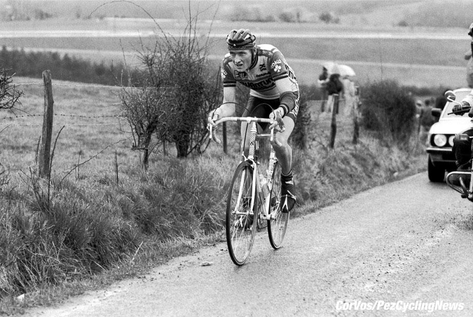 Liege - Belgium - wielrennen - cycling - cyclisme - radsport - Adri VAN DER POEL   pictured during Luik - Bastenaken 1986 - Luik - photo Cor Vos © 2018