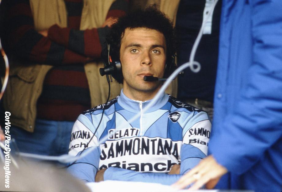 Liege - Belgium - wielrennen - cycling - cyclisme - radsport -  Moreno ARGENTIN  pictured during Luik - Bastenaken 1986 - Luik - photo Cor Vos © 2018