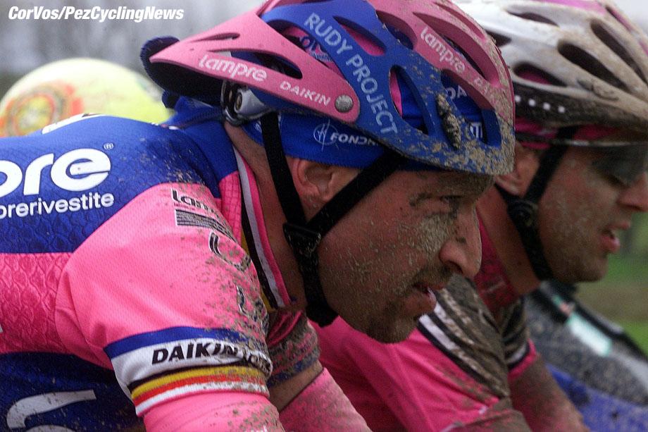 Parijs-Roubaix, foto Cor Vos ©2001 Ludo Dierckxsens en Steffen Wesemann