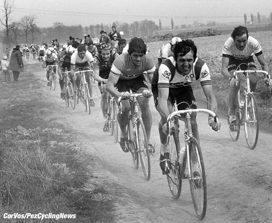 Wielrennen -cycling - archief -Arhive - stockphoto -  Roger de Vlaeminck (Parijs-Roubaix)  - foto Cor Vos © 1980