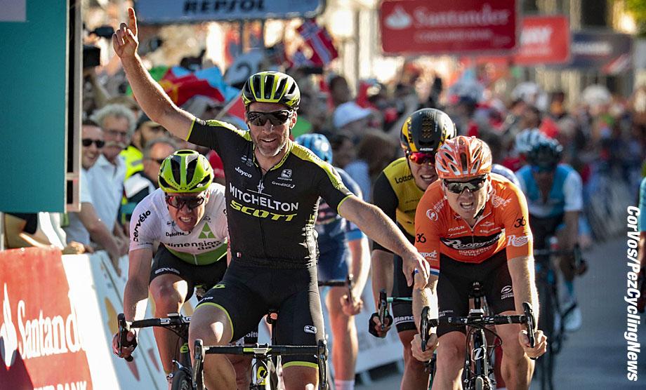 Kristiansand - Norway - wielrennen - cycling - cyclisme - radsport - Michael ALBASINI (Swiss / Team Mitchelton - Scott) - Pim LIGTHART (Netherlands / Team Roompot Nederlandse Loterij) - Amund Grondahl JANSEN (Norway / Team Lotto NL - Jumbo) pictured during Tour des Fjords 2018 - stage 2 from Ris¯r to Kristiansand (188KM)- photo Davy Rietbergen/Cor Vos © 2018