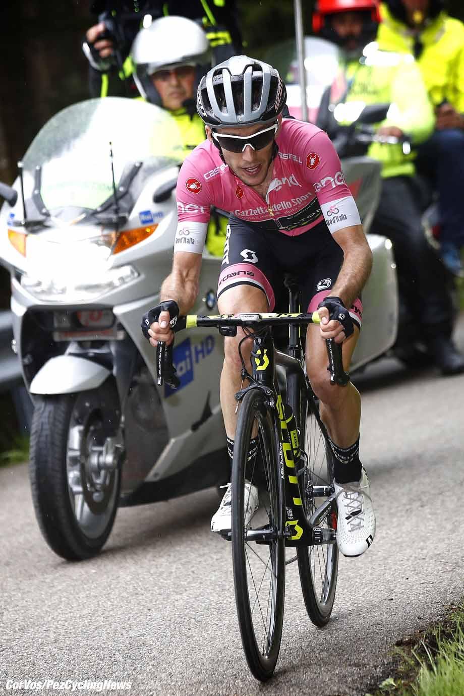 Monte Zoncolan  - Italië - wielrennen - cycling - cyclisme - radsport -   Simon Yates (GBR - Mitchelton - Scott) pictured during the 101st Giro d'Italia 2018 - stage 14 from San Vito al Tagliamento to Monte Zoncolan (186 KM) - photo LB/RB/Cor Vos © 2018