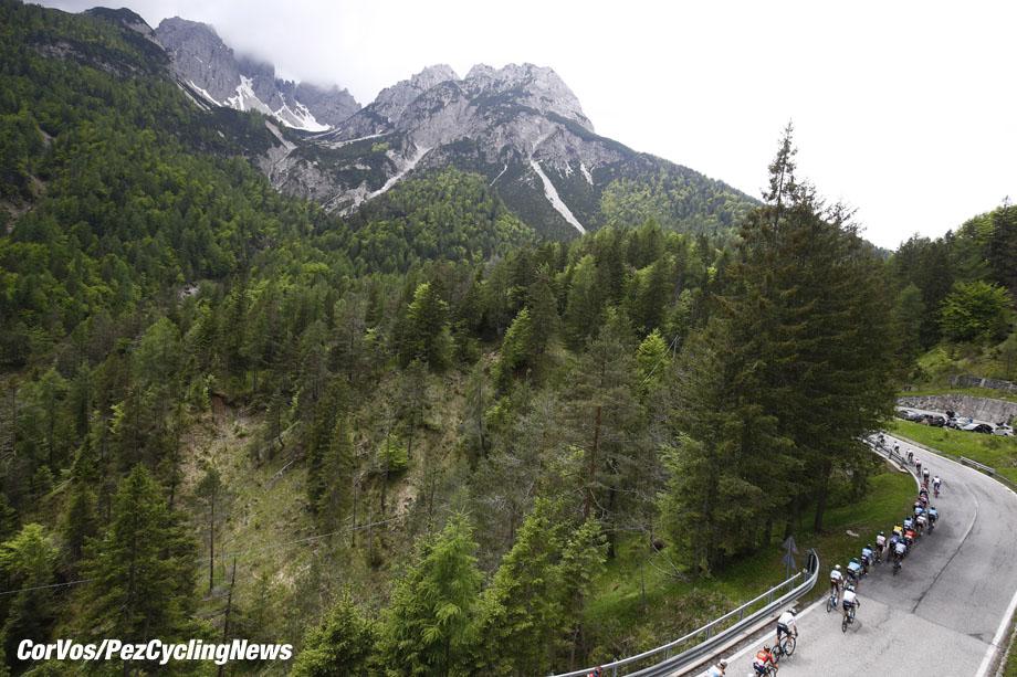 Sappada - Italië - wielrennen - cycling - cyclisme - radsport - illustration - scenery - carte postal scenic shot - postcard sfeerfoto - sfeer - illustratie  pictured during the 101st Giro d'Italia 2018 - stage 15 from Tolmezzo to Sappada (176 KM) - photo DB/LB/RB/Cor Vos © 2018