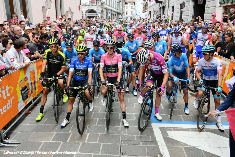 Foto Gian Mattia D'Alberto - LaPresse 20/05/2018 TOLMEZZO (Italia) Sport Ciclismo Giro d'Italia 2018 - edizione 101- tappa 15 TOLMEZZO - SAPPADA Nella foto: Photo Gian Mattia D'Alberto - LaPresse 2018-05-20 TOLMEZZO (Italy) Sport Cycling Giro d'Italia 2018 - 101th edition - stage 15 TOLMEZZO - SAPPADA In the pic: