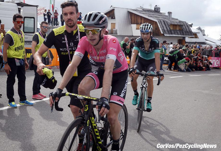 Prato Nevoso - Italië - wielrennen - cycling - cyclisme - radsport - Simon YATES (GBR / Team Mitchelton - Scott) pictured during the 101st Giro d'Italia 2018 - stage 18 from Abbiategrasso to Prato Nevoso (196 KM) - photo LB/RB/Cor Vos © 2018