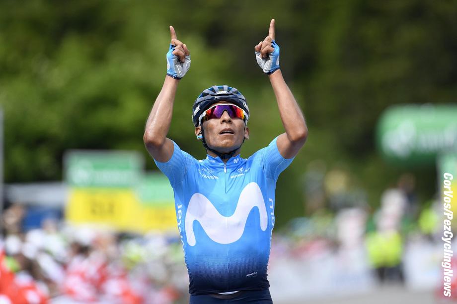 Arosa - Swiss - wielrennen - cycling - cyclisme - radsport - AQUINTANA Nairo (COL) of Movistar Team pictured during the 82nd Tour de Suisse (2.UWT) stage 7 from Eschenbach/Atzmännig to Arosa170KM - photo VK/PN/Cor Vos © 2018