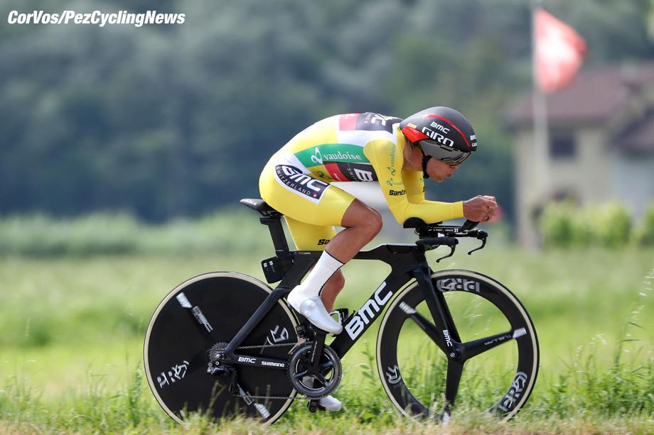 Bellinzona - Swiss - wielrennen - cycling - cyclisme - radsport - PORTE Richie (AUS) of BMC Racing Team pictured during the 82nd Tour de Suisse (2.UWT) stage 9 from Bellinzona to Bellinzona 34KM - ITT - Time Trial Indidual - photo Luis Gomez/Cor Vos © 2018