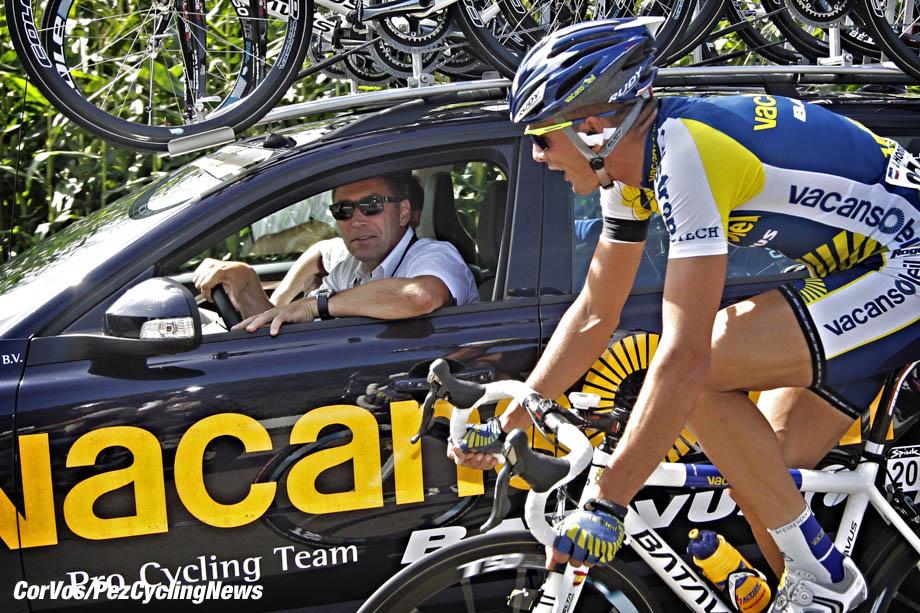 Vuelta09 4st Michel CornelisseJohnny Hoogerland