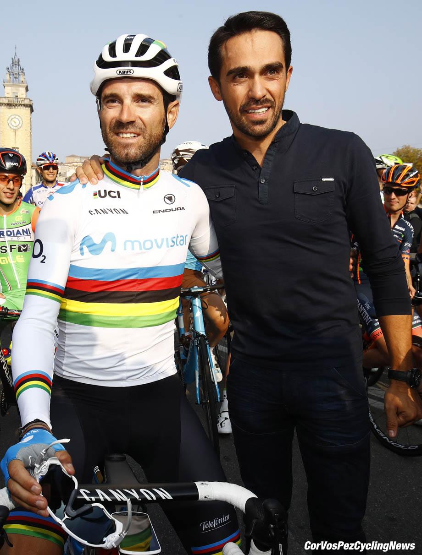 Alberto Contador and Alejandro Valverde. The Movistar team presented ... c26735c72