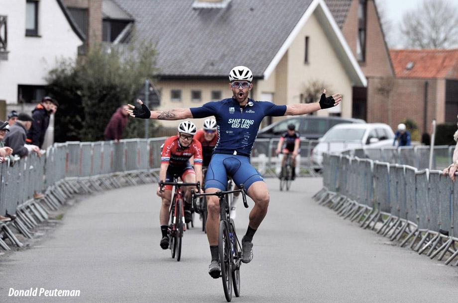 Californian in Belgium - Eamon (Van) Lucas Gets PEZ'd! - PezCycling News
